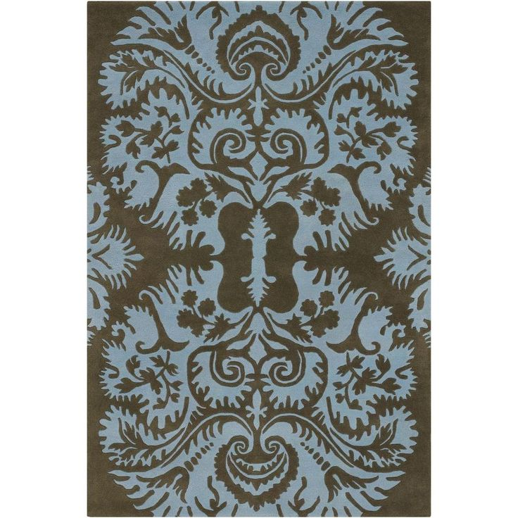 Amy Butler Charcoal Blue 7 Ft 9 In X 10 6 Indoor Area Rug