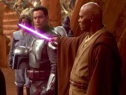 I'm just a simple man, trying to make my way in the universe…(Jango Fett)…...Star Wars... Episode 2: Attack Of The Clones