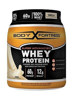 Body Fortress Super Advanced Whey Protein Powder Vanilla 2 Pounds7  Flavor - Vanilla, UPC - 074312553677