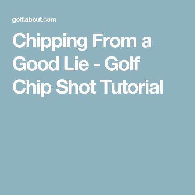 Chipping From a Good Lie - Golf Chip Shot Tutorial