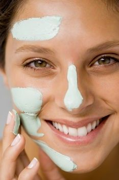 Scrub with two tablespoons of baking soda and some water made into a paste for one week to minimize pores...will be doing that!! Also, many home mask recipes here to help minimize pores.
