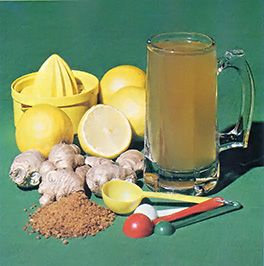 """Consider making ginger beer, a spicy beverage from """"down under,"""" for a novel way of celebrating the arrival of spring."""