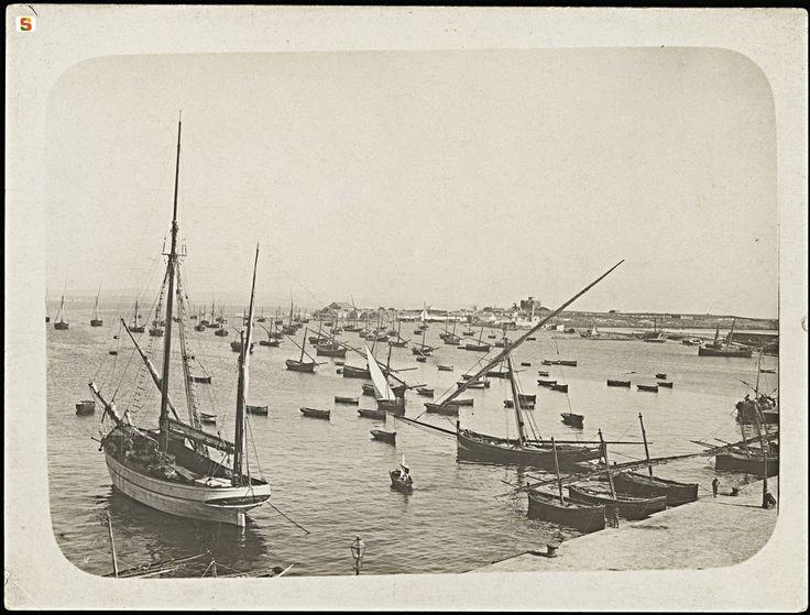 Carloforte, il porto. Sardegna, Italy, photo Wagner Max Leopold