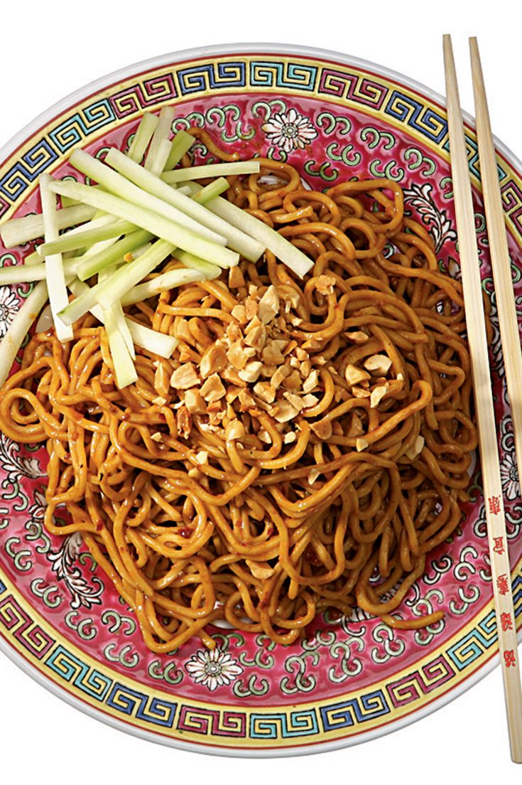 Soft and luxurious, bathed in an emulsified mixture of sesame paste and peanut butter, rendered vivid and fiery by chili oil and sweetened by sugar, then cut by vinegar, this version brings home what used to be classic New York takeout. (Photo: Tony Cenicola/The New York Times)