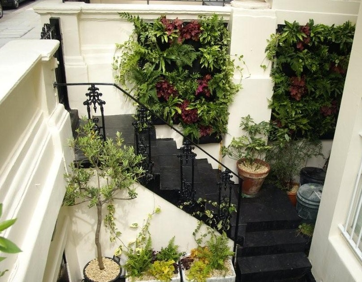 Living Wall Planters By Woolly Pocket, Wally Three Living Wall Modules From  Award Winning Landscape Construction Company Garden House Design Based In  ...