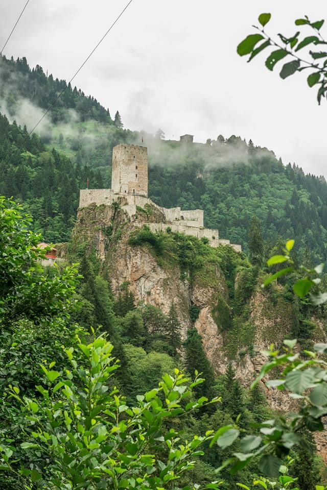 Zil Castle (Trebizond Empire Era), Çamlıhemşin, Rize ⚓ Eastern Blacksea Region…
