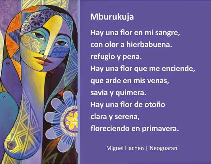 Mburukuja - Arte Neoguaraní, creado por Muiguel Hachen