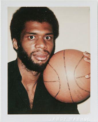 Kareem Abdul-Jabbar - Andy Warhol's Polaroid Portraits