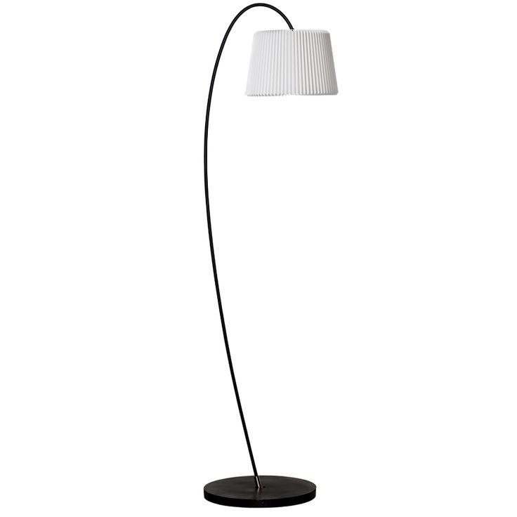 "CASANOVA Møbler — Le Klint - 320M ""Snowdrop"" gulvlampe - sort"