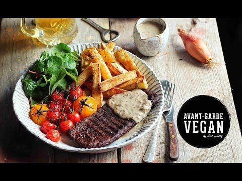Steak & Peppercorn Sauce - Avant-Garde Vegan