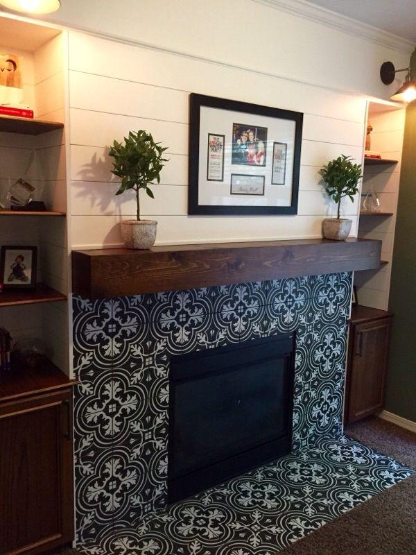 Fireplace Design fireplace tile surround : Best 10+ Fireplace tile surround ideas on Pinterest | White ...