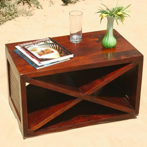 Beautiful Modern Coffee Tables: X Marks The Spot With This Modern Coffee Table. Striking X