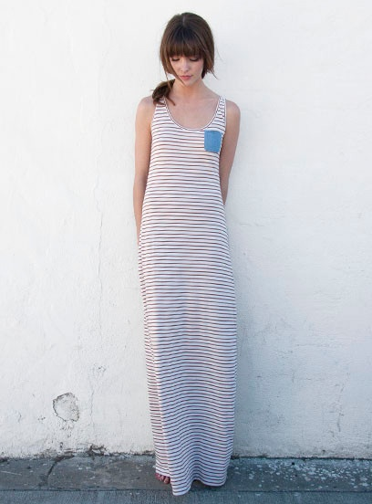 The Picasso Stripe Penny Tank Dress