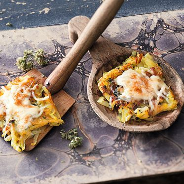 Minirösti mit Käse Rezept | Küchengötter