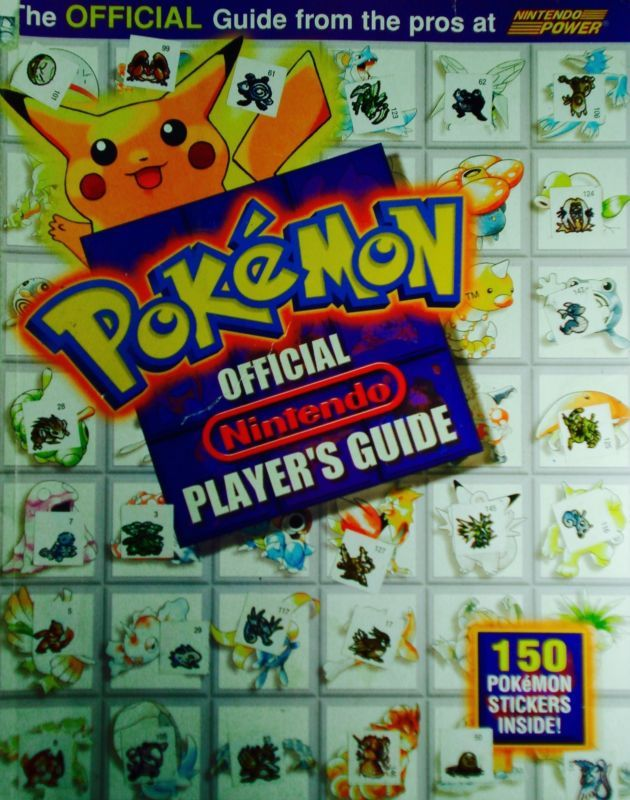 Pokemon Official Nintendo Player's Guide - http://video-games.goshoppins.com/video-game-strategy-guides-cheats/pokemon-official-nintendo-players-guide/