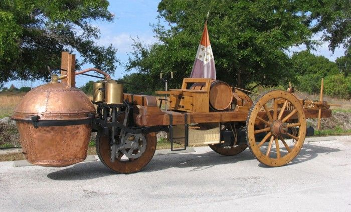 Working replica of oldest vehicle in the world to appear at Stan Hywet Concours | Hemmings Daily