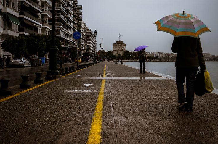...να σε συναντήσω στη βροχή,  χωρίς να πούμε τίποτα.  Καλημέρα!