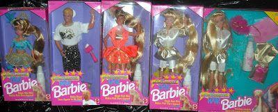 Hollywood hair: Barbie 90's Had Skipper Ken and Barbie