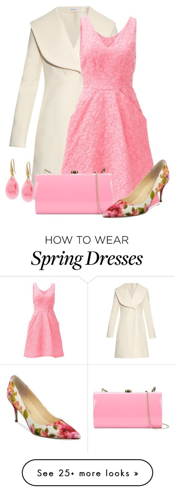 """""""Spring Coat"""" by cris-1121 on Polyvore featuring J.W. Anderson, YOANA BARASCHI, Rocio, Ivanka Trump and GUESS"""
