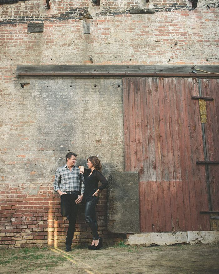 Industrial Winter Engagement Session in Atlanta | Images by Jason Hales Photography