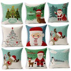 #Banggood Рождественский серийный рождественский чехол для подушки квадрата случая декоративной подушки домашний декоративный автомобиль (1003849) #SuperDeals