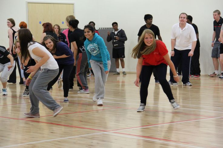 The students getting active at #NTUSR12