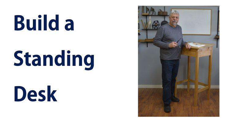 How to Make a Standing Desk.