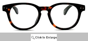 Eisley Round Readers Glasses - 146 Tortoise