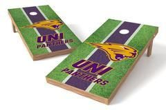Northern Iowa Panthers Single Cornhole Board - Field