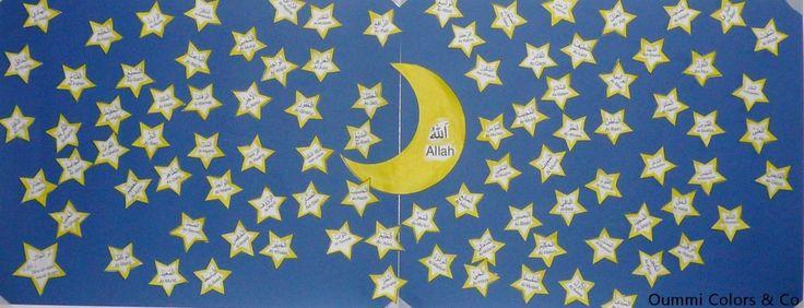 Challenge familial de Ramadan:Apprendre les noms d'Allah