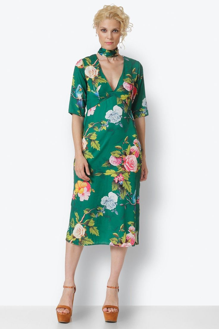#dress #marymary #marymaryshop #floral #green