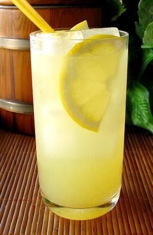 Olive Garden's Limoncello Lemonade - but if you're in a hurry, just use 2oz limoncello, 2oz citrus vodka, and 12oz of Simply Lemonade. Also great if you substitute the Simply Lemonade for a Mike's Hard Lemonade (an extra kick)!
