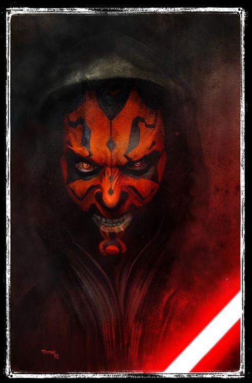 Star Wars - Darth Maul by Tariq