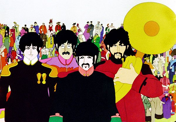 "Heinz Edelmann, the multifaceted graphic designer and illustrator who created the comically hallucinogenic landscape of Pepperland as art director for the 1968 animated Beatles film ""Yellow Submarine,"" died in 2009. He was 75."