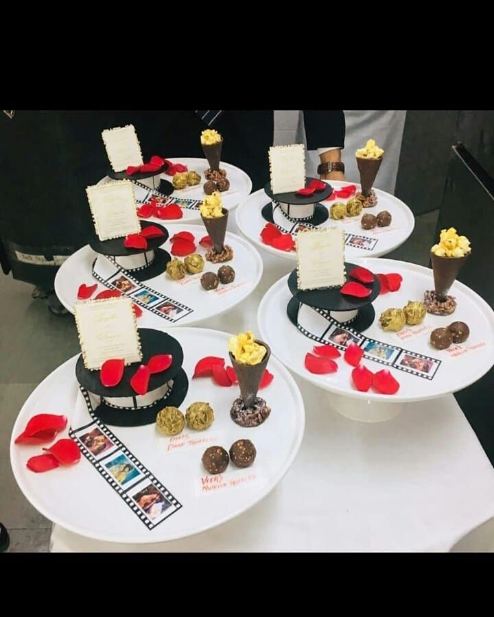 Sweet Welcome For Deepika Padukone And Ranveer Singh Ranveer Singh S Sister Ritika Bhavnani Has The Most Adorable Des Celebration Desserts Desserts Big Cakes