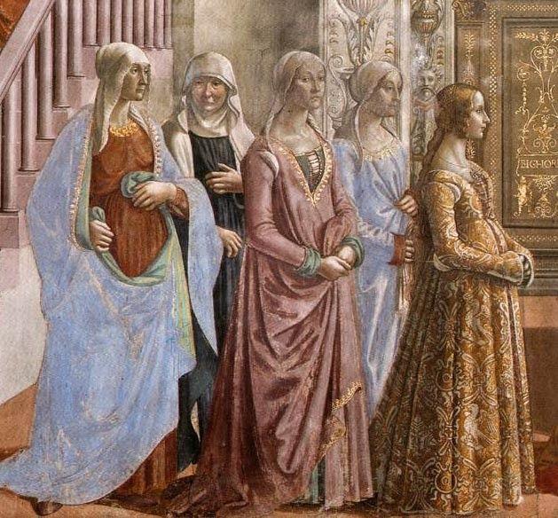 Искусство портрета во фресках Гирландайо: affresco