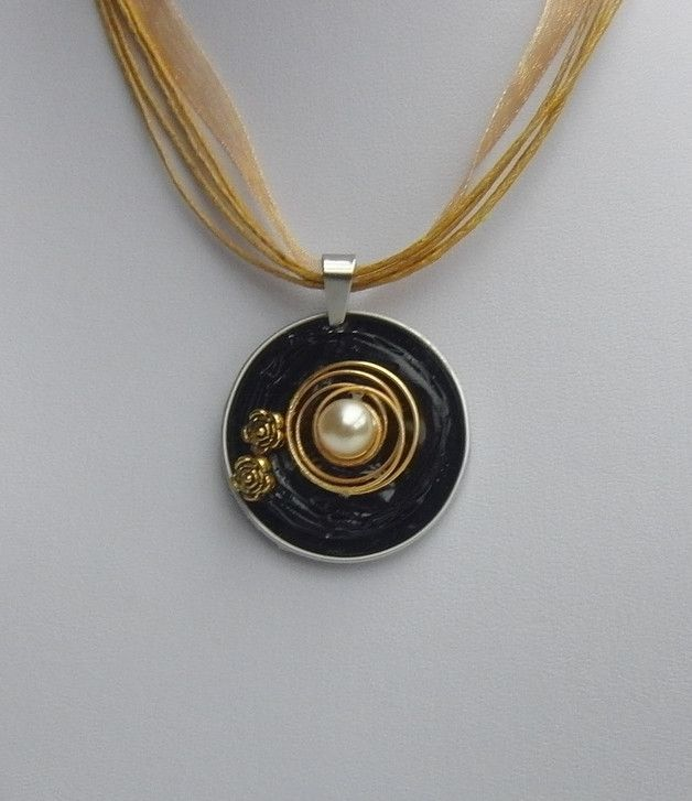 Colliers - Noble Collier származó Nespresso kapszula - a tervező ékszer készítés-Petra a DaWanda
