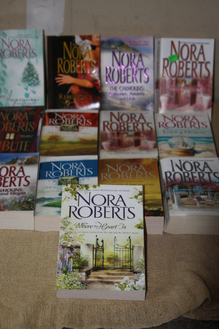 13 Nora Roberts books / nora roberts novels by TheKindLady on Etsy