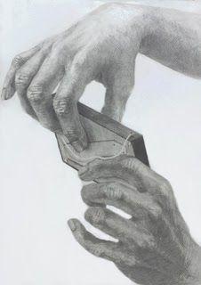 2014年度 多摩美術大学 グラフィックデザイン学科 合格者再現作品:鉛筆デッサン