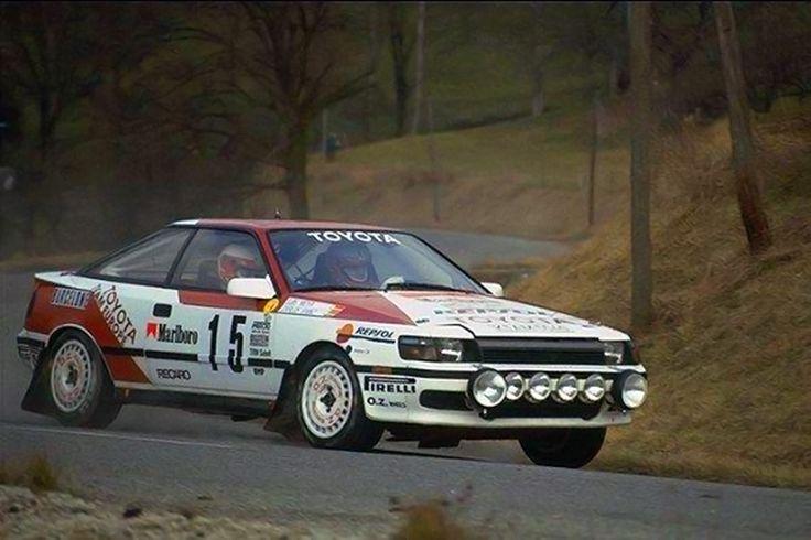 Carlos Sainz – Luis Moya (Toyota Celica GT-4) Abandono Montecarlo 1989