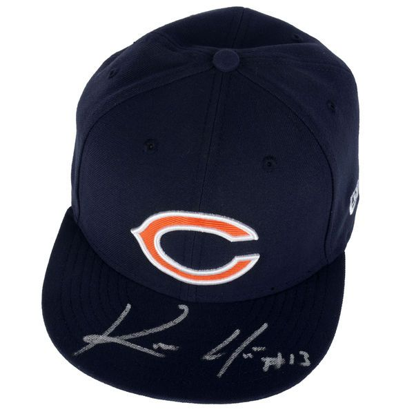 Kevin White Chicago Bears Fanatics Authentic Autographed 2015 New Era Draft On Stage Fitted Hat - $149.99