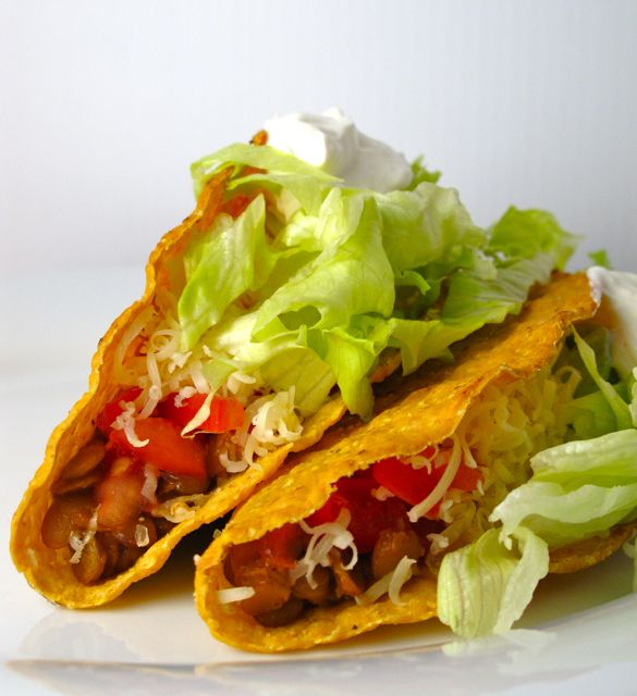 Spiced Lentil Tacos | Feastie | In the Kitchen | Pinterest