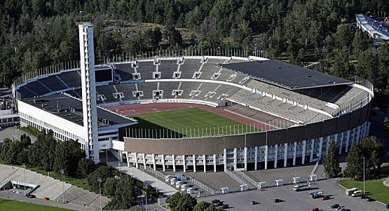 Contributer to this was Alvar Aalto   Olympic Stadion in Helsinki.