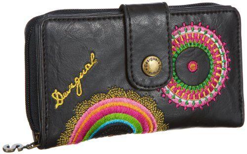 Desigual  MONE_EMBROIDERY,  Portafoglio donna, Marrone (Braun (chocolate 6009)), 4x10x16 cm (B x H x T) in OFFERTA su www.kellieshop.com Scarpe, borse, accessori, intimo, gioielli e molto altro.. scopri migliaia di articoli firmati con prezzi da 15,00 a 299,00 euro! #kellieshop Seguici su Facebook > https://www.facebook.com/pages/Kellie-Shop/332713936876989