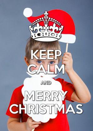 Keep Calm and Merry Christmas 2 - Kerstkaarten - Kaartje2go