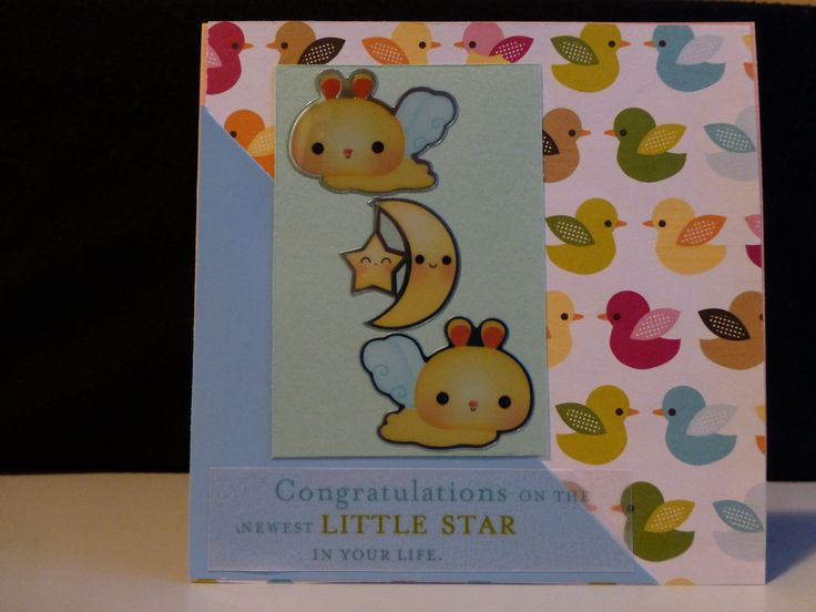 Congratulations on the newest little star in your life. New baby card.  - PeppyPaper