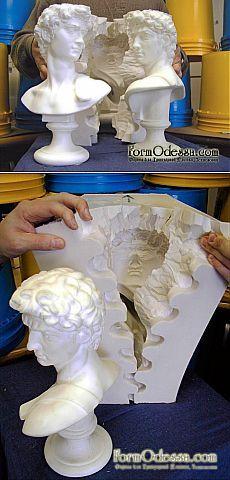 Formodessa.com - Силикон. Силикон для форм, описание как сделать формы из силикона, для гипса, бетона, все про силикон, марки и виды силикона