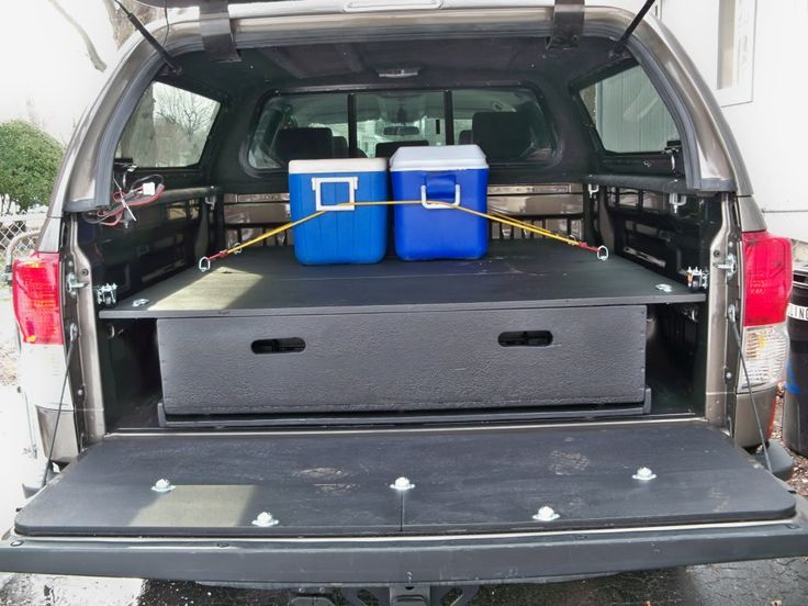 Pictures diy bed storage system for my truck draw system pinterest boat storage rv - Diy truck bed storage ...