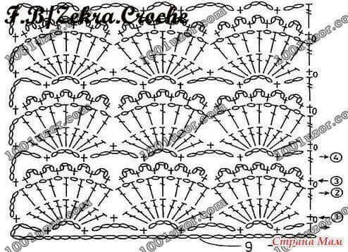 2201 best Patrones en tejido crochet fotos y diagramas images on ...