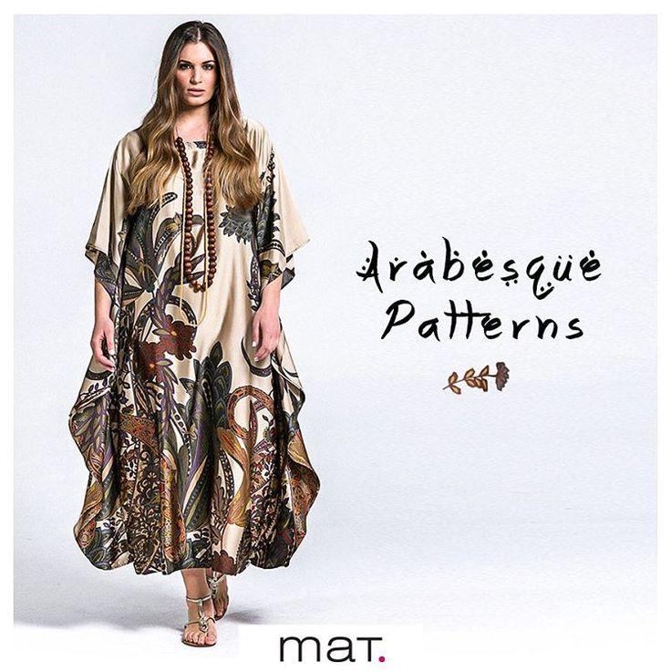 Ένα από τα πιο εντυπωσιακά φορέματα της φετινής συλλογής...! Από πανάλαφρο satin ύφασμα με μοναδικά μοτίβα που πέφτει αέρινα στη σιλουέτα! Ανακάλυψε το ➲ code: 671.7317 #matfashion #ss17 #collection #plussizefashion #style #fashionista